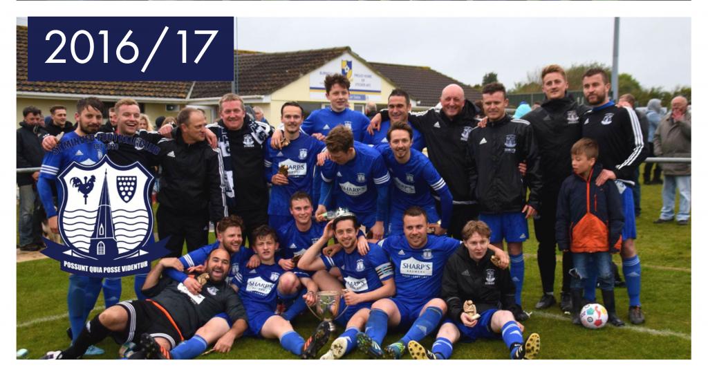 St Minver FC - KMD Cup Winners 2016/17
