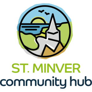 ST. MINVER community hub logo