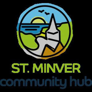 ST. MINVER community hub logo