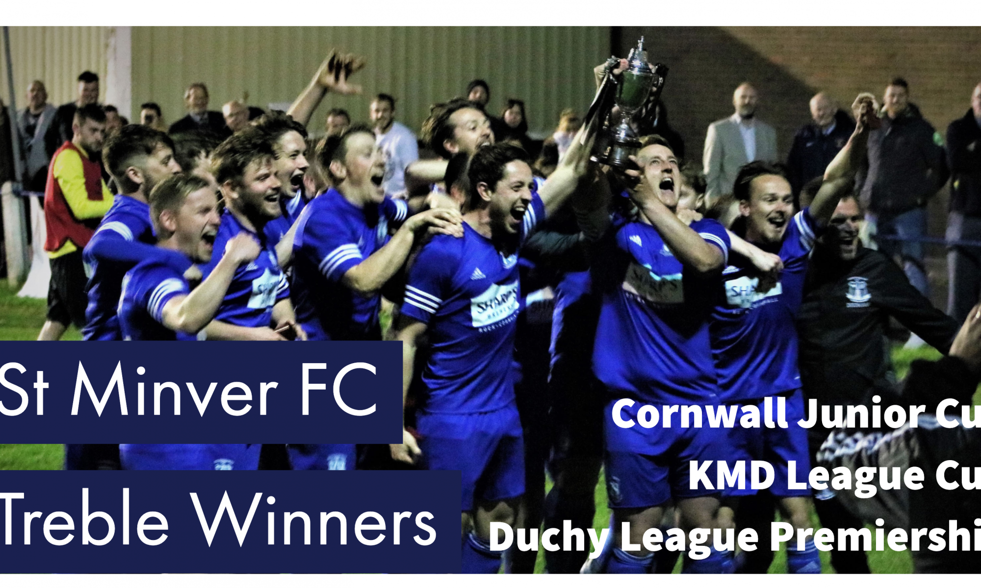 St Minver FC - Treble Winners 2016/17