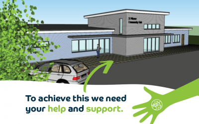 Your Community Needs You – Five hundred donations of £1,000 will build a new Community Hub